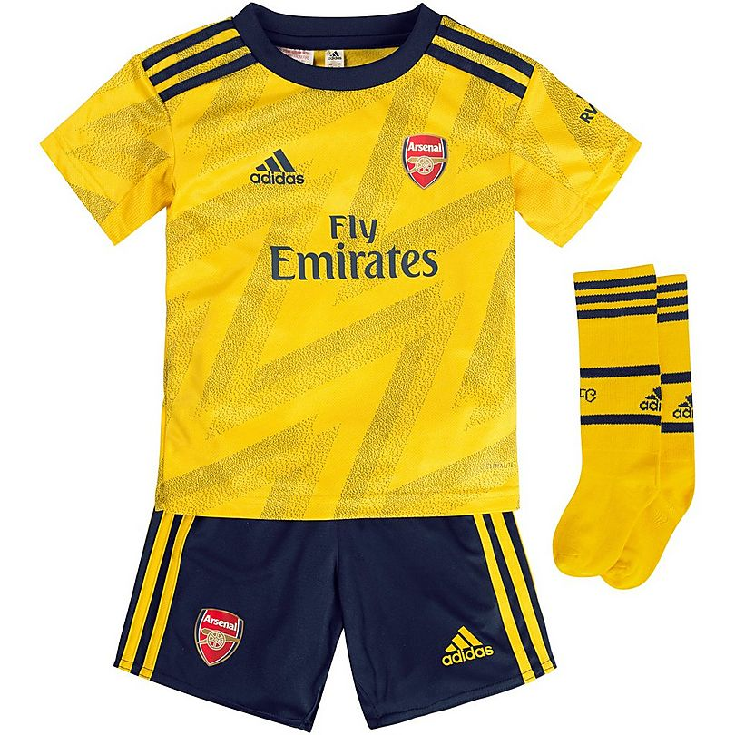 online store e6e25 c0815 Arsenal 19/20 Away Mini Kit   Official Online Store