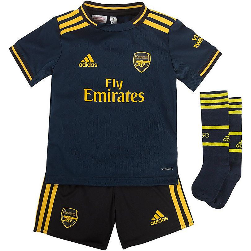 sale retailer 1795b 9a80e Arsenal 19/20 Third Mini Kit | Official Online Store