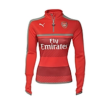 Arsenal Ladies 16/17 1/4 Zip Training Top