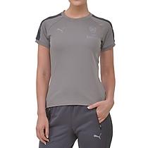 Arsenal Ladies Grey Performance T-Shirt