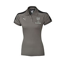 Arsenal Ladies Grey Performance Polo Shirt
