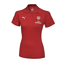 Arsenal Womens 17/18 Casual Performance Home Polo Shirt