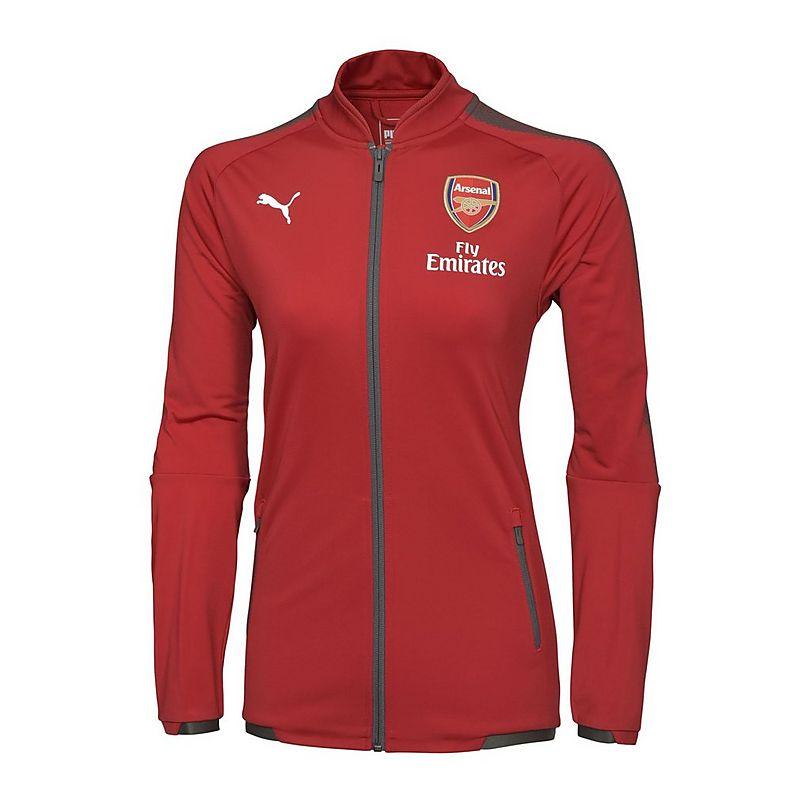 Arsenal Womens 17 18 Stadium Jacket cf96fd403d