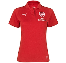 Arsenal 18/19 Womens Casual Performance Red Polo Shirt