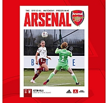 Arsenal Women V Aston Villa 09.05.2021