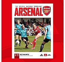 Arsenal Women  v West Ham United 28.04.2021