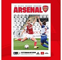 Arsenal  Women v Tottenham Hotspur 26.09.2020