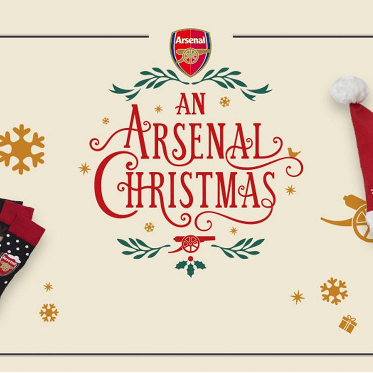 bc85fc8731e Arsenal Christmas Collection For Mens Womens Kids   Home