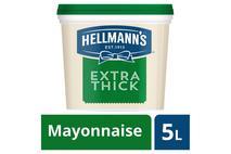 Hellmann's Extra Thick Mayonnaise 5L