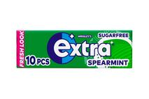 Wrigley's Extra Spearmint Chewing Gum Sugar Free 10 Pieces