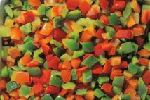 KM Diced Mixed Peppers