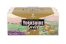 Yorkshire Tea Gold Tagged & Enveloped