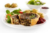 Brakes Mushroom, Spinach & Cranberry Tarts