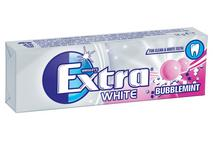 Wrigley's Extra White Bubblemint Chewing Gum Sugar Free 10 Pieces