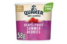 Quaker Oat So Simple Summer Berries Porridge Pot 58g