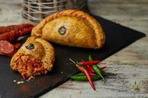 Phat Chicken and Chorizo Pasty