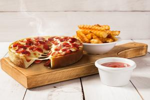 Chicago Town Deep Dish Pepperoni Pizzas 160g Chicago Town