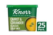 Knorr Professional Classic Carrot & Coriander Soup 25 Portions