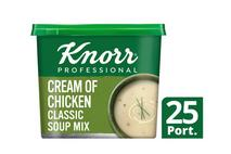 Knorr Professional Classic Cream of Chicken Soup 25 Portions