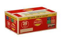 Walkers Variety Crisps Box