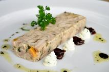 Little & Cull Chicken, Apricot & Pancetta Terrine