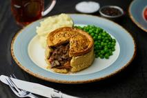 Phat Cornish Steak & Ale Pie