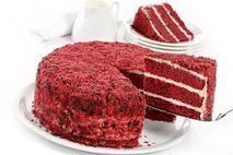 Brakes Big Red Velvet Cake