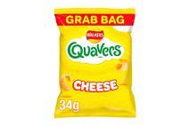 Walkers Quavers Cheese Snacks 34g