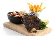 Beef Rib with Salt & Pepper