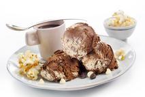 The Great British Ice Cream Company Milk Chocolate Dairy Ice Cream Swirl