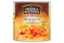 Crosse & Blackwell Sliced Carrots in water 2.6kg