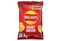 Walkers Ready Salted Crisps 32.5g