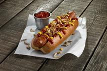 Big Al's Beechwood Smoked Gourmet Pork Hot Dog 90g