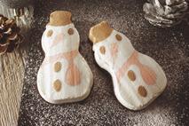 Individual Snowman Ice Cream