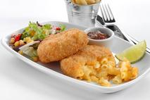 M&J Seafood Mac & Cheese Smoked MSC Haddock Fishcakes