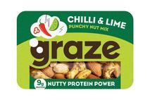 Graze Punchy Chilli & Lime Nutty Protein Power