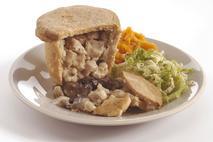 Brakes Chicken & Mushroom Baked Suet Pudding