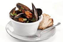 M&J Seafood Scottish MSC Mussels in a Tomato, Chorizo & Smoked Paprika Sauce