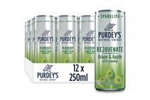 Purdey's Natural Energy Rejuvenate Grape & Apple with Ginseng