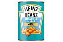 Heinz No Added Sugar Beanz in a Rich Tomato Sauce 415g