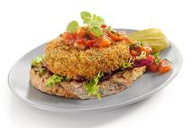 Brakes Cauliflower, Kale & Ford Farm Oak Smoked Cheddar Burger
