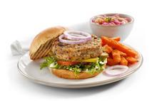 Brakes Mushroom & Garlic Burger