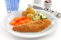M&J Seafood Gluten Free Battered MSC Alaska Pollack Fillets (skinless, boneless)