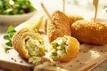 Whitby Seafoods MSC Haddock, Cheddar Cheese & Chive Croquetas