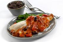 M&J Seafood Mediterranean Seabass In A Tomato Sauce