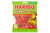 HARIBO Giant Strawbs Bag 140g