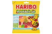 HARIBO Fruitilicious 30% Less Sugar Bag 120g