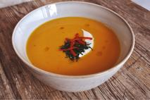 Little & Cull Sweet Potato, Coconut & Chilli Soup