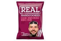 Real Handcooked Oak Smoked BBQ Rib Crisps