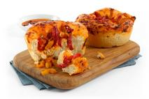 La Boulangerie Fully Baked Mixed Pepper & Spicy Tomato Individual Focaccia